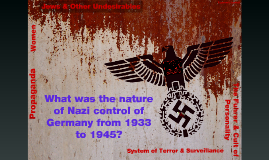 UNITY AC 10 HISTORY - Nature of Nazi Totalitarian Control of Germany