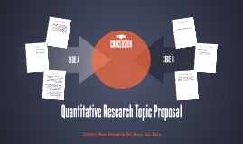 Quantitative Research Topic Proposal
