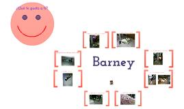Copy of ¿Qué le gusta a Barney?