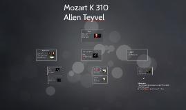 Mozart K 310