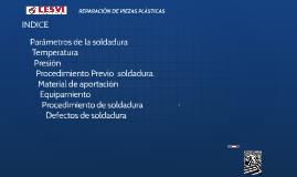 REPARACION DE PIEZAS PLÁSTICAS