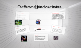 The Murder of John Bruce Dodson