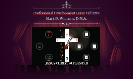 Professional Development Leave 2018
