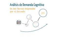 Análisis de Demanda Cognitiva