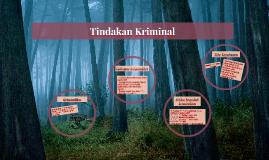Copy of Tindakan Kriminal