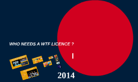 Who needs a WTF Licence ? To view correctly you must enter full screen mode.