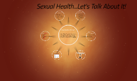 Copy of Sexual Health...Let's Talk About It!