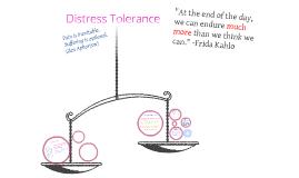 Module 3: Distress Tolerance