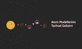 Atom Modellerinin...