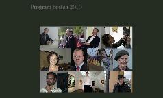 Program hösten 2010