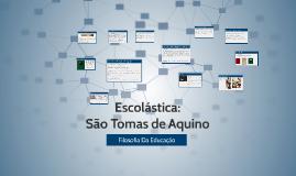 Copy of Escolástica: São Tomas de Aquino
