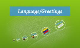 Language/Greetings