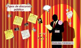 Tipos de Discurso Público