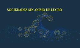 SOCIEDADES SIN ANIMO DE LUCRO -ESALES