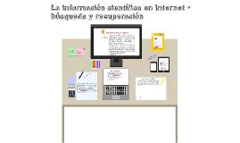 Información científica en la web