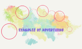 examples of advertising