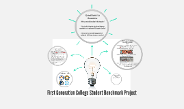 First Generation Student Benchmark Project
