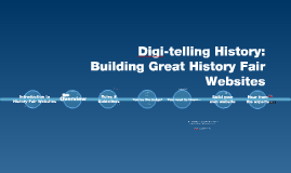 Digi-telling History for Teachers Updated March 2014