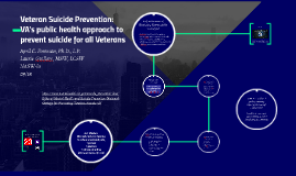 Veteran Suicide Prevention: VA's public health approach to prevent suicide for all Veterans