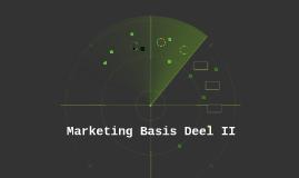 Marketing en Communicatie 1 - Plaats - Deel 2