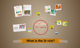 What is the 3r rule?