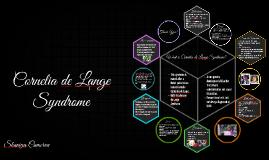 Copy of Cornelia de Lange Syndrome