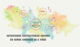 INFECCIONES RESPIRATORIAS AGUDAS EN NIÑOS MENORES DE 5 AÑOS