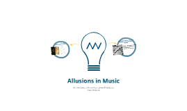 Allusions in Music