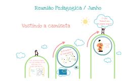 Reunião pedagógica/junho - dinâmica