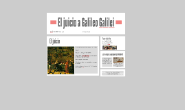 El juicio a Galileo Galilei