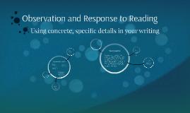 Observation Essay Tips