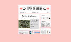TIPOS DE ARMAS