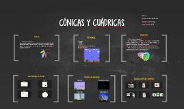 CÓNICAS Y CUÁDRICAS