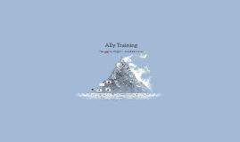 Ally Training