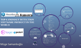 TOP 4 ANOMALY DETECTION SOFTWARE PRODUCT IN THE WORLD