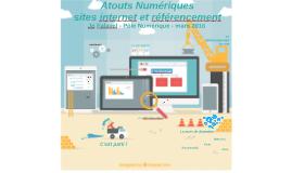 Atouts Numériques - sites internet - Jp Falavel - Pôle Numérique - mars 2016