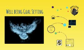 Wellbeing Goal Setting