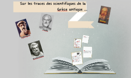 Pythagore, Thalès .... et quelques autres