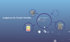 Assignment 4b: Teacher Portfolio: Narrated PPT of Work Done