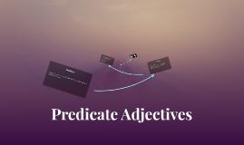 Predictive Adjective