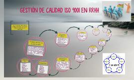 Copy of GESTIÓN DE CALIDAD ISO 9001 EN RRHH