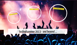 Festivalsommer 2013 - and beyond ...