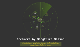 Dreamers by Siegfried Sasson