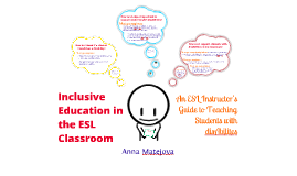Copy of Inclusive Education in the ESL Classroom