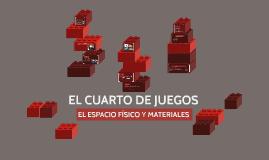 EL CUARTO DE JUEGOS