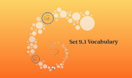 Set 13 Vocabulary
