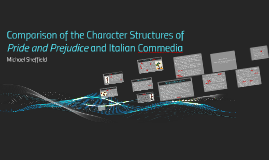 Comparison of the Character Structures of Pride and Prejudic