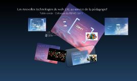 Les nouvelles technologies du web 2.0, au service de la pédagogie?