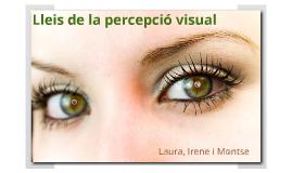 Psicologia: Percepció Visual