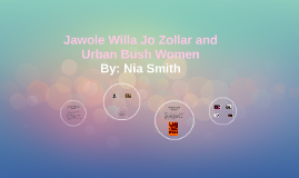 Jawole Willa Jo Zollar and